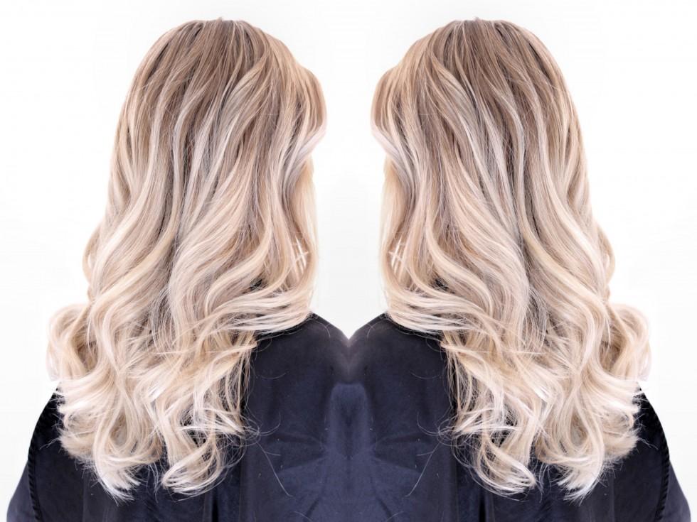 vit grå hårfärg