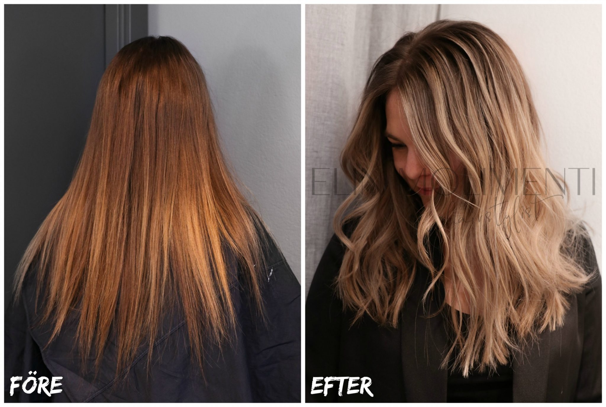 hur får man bort orange hår