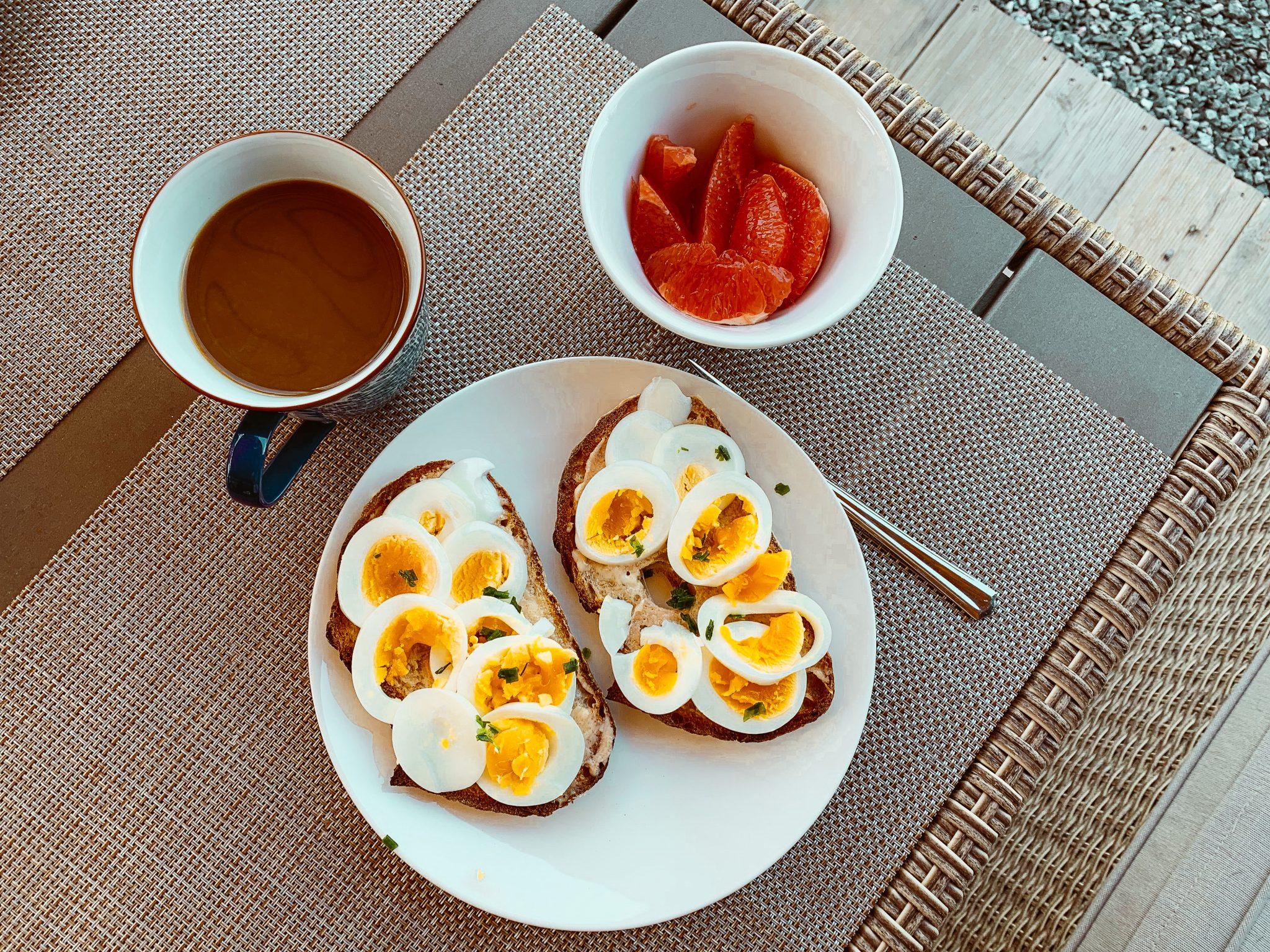 magknip av ägg