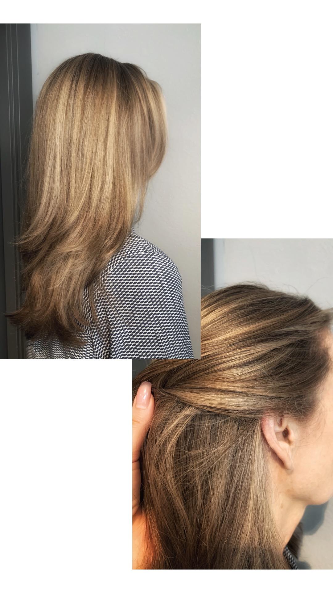 hårfärg som täcker grått hår till 100